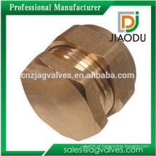 Encaixes de bronze novos que encaixam o encaixe tampas de extremidade do batente 15mm ou 20mm ou 22mm ou 26mm apropriados para o óleo da água de gás