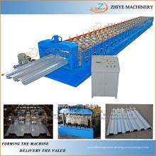 Aufstellung Gebraucht Metall Stahl Gute Preis Bodenbelag Deck Panel Rolling Equipment