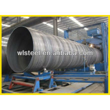 supply round welded steel pipe made in China