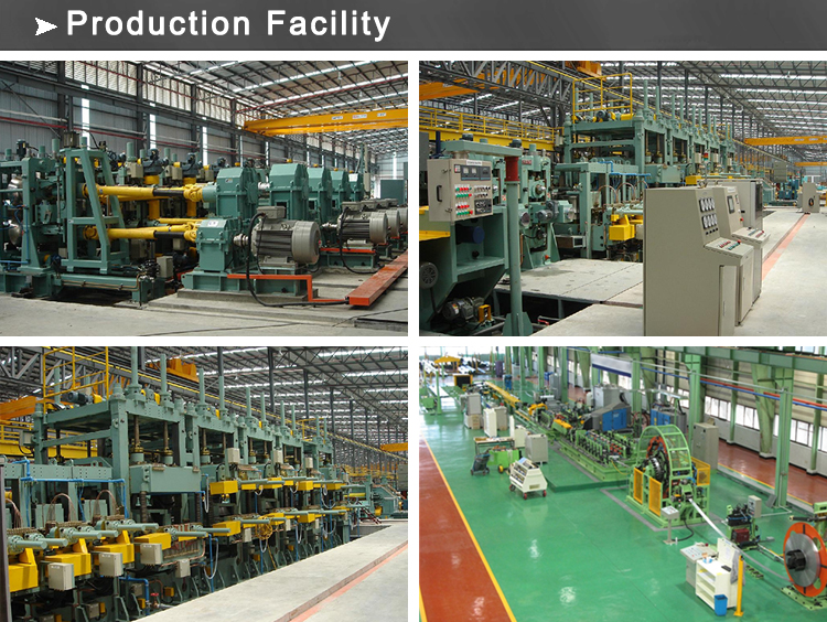 tubing production facility