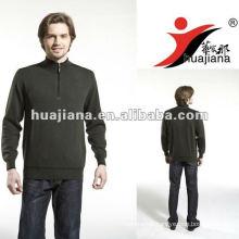 luxury men's cashmere sweater winter coat