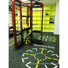 2017 Hot Sale Rubber Roll/ Intelock Gym Club Floor Indoor