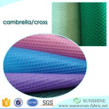 Fabricant croisé de tissu non-tissé de croix de pp