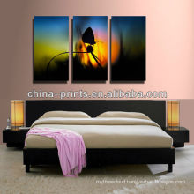 Multi-Panels Abstract Canvas Painting For Bedroom