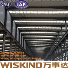 Steel Frame Structure with Design and Manufacture for Top Quality