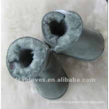 grey baby warm shoes