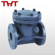 Inline mini balançoire en plastique ressort vertical clapet pvc / dn15-non retour valve