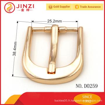 Haute qualité de boucles en alliage de zinc POUR SACS