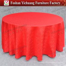 Постельное покрывало из полиэфирной ткани стола стола (YC-0295-01)