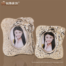 Christmas factory hot selling high quality polyresin elegant photo frame for home decor