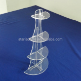 Detachable 4 Tier Clear Acrylic Cupcake Display Stand