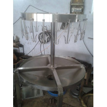 Nueva máquina de matanza de pollo de acero inoxidable: mesa de órganos de pollo