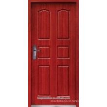 Porta ignífuga de madeira, porta corta fogo, porta de entrada de fogo
