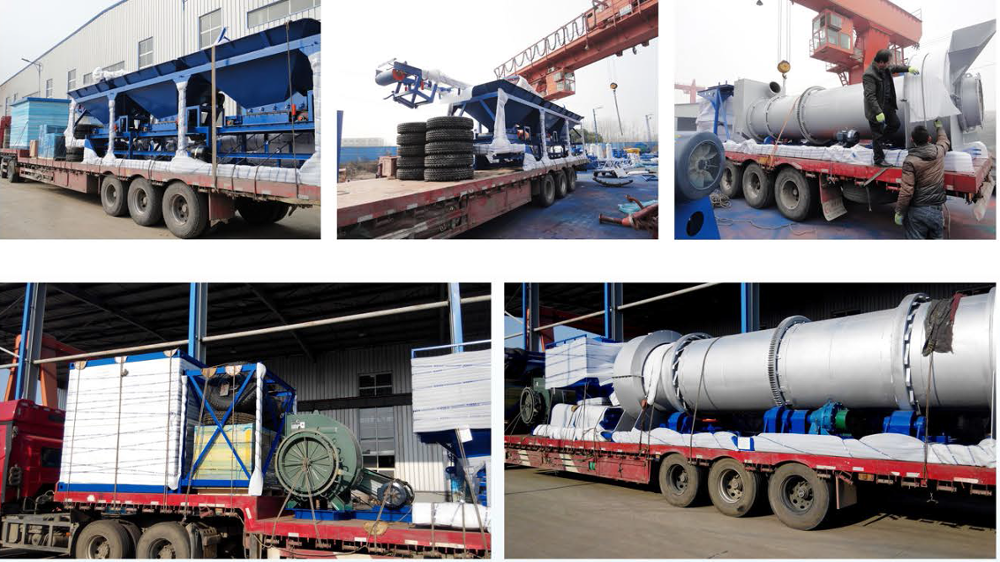 Package asphalt plant