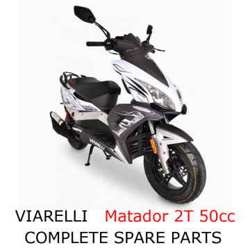 Viarelli Matador 2T 50cc Scooter Part