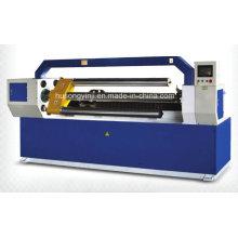 CNC cortador de tubo de papel con carga automática de carga