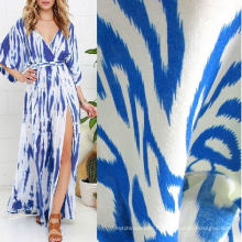 Tissu rayonne viscose imprimé pour les vêtements d'été