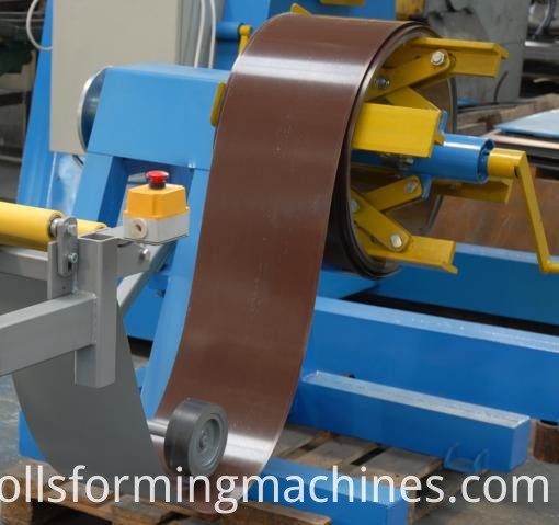 lows matel roofing cost and ridge cap making machine 02