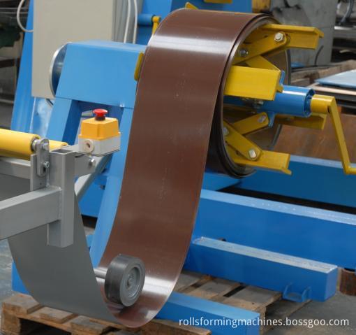 Metal Ridge Cap Tile Making Machine 04