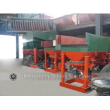 Machine de gabarit de séparateur d'or de récupération élevée