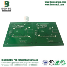 4-laags 1oz Multilayer PCB Immersion Silver BentePCB