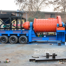 Large Capacity Portable Grinding Ball Mill