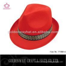 Chapeaux de fourrure rouge pour hommes promotionnels