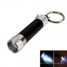 Förderung Zink-Legierung Mini LED Taschenlampe Schlüsselbund
