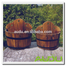 Audu Outdoor Flower Large Plant Box Wooden Plant Pots