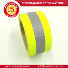 Hi brightness reflective T/C tape for uniform