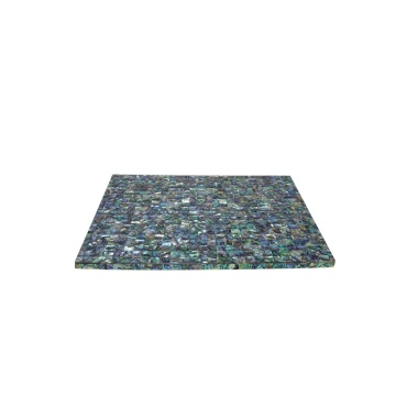 Personlized Products for Mother of pearl Placemat, Placemat direct from Jiujiang Tengjun Shell Arts and Crafts Co., Ltd. in China (Mainland) Hot Sale Abalone Shell Dining Table Mat supply to Bangladesh Suppliers
