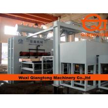 1830 * 3660mm Línea de prensa totalmente automática de la melamina / laminados de la máquina caliente de la prensa