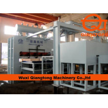 1830*3660mm Fully automatic melamine press line/ laminated panels hot press machine