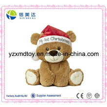 Plush Christmas Bear Baby Toy