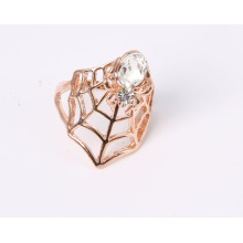 Rose Gold Plated Fashion Jewelry Ring