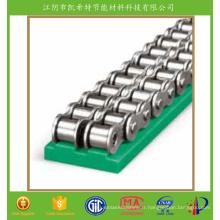 Rail de guidage d'extrusion en nylon chaud