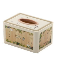 Plastic Fashion Tissue Box (FF-5074-1)