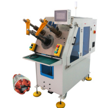 Automatic stator coil winding inserting machine