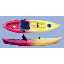 Kayak de PVC Ks-06 para pesca y uso recreativo al aire libre