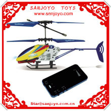 2CH Blue Mini Shatter Resistant RC Helicopter TT666 Remote Control Helicopter