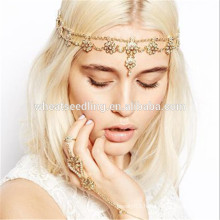 hot style tmall tassel pearl beads hairband flower headband