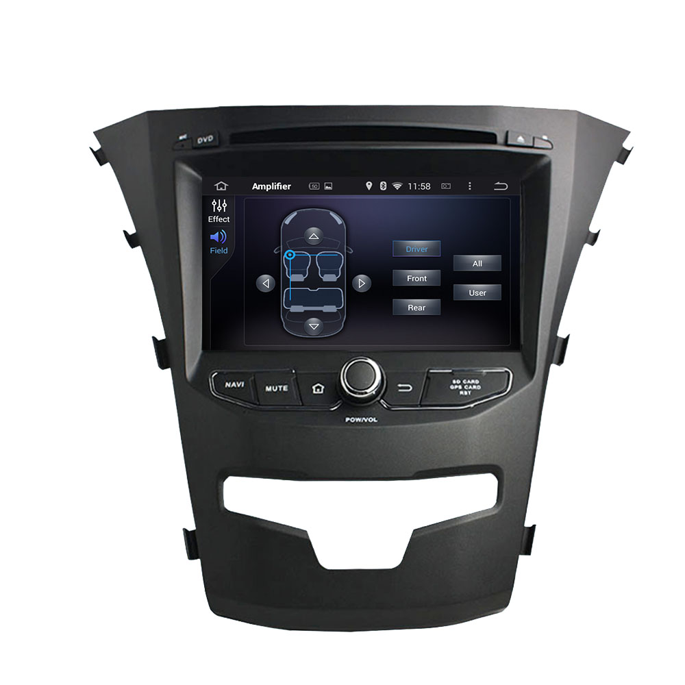 Ssangyong Korando 2014 android car DVD