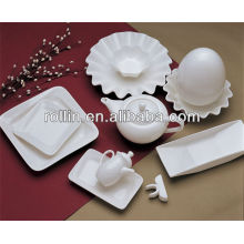 hot white porcelain oven safe hotel cookware set,dinnerware