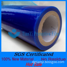 Non Residue pe plastic film for painted metals