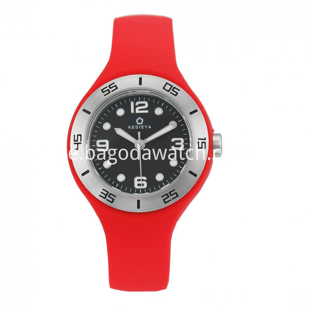 Silicone Watches Womens