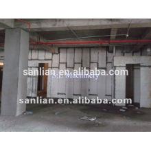 Panel de pared ligero prefabricado 250m3 / d