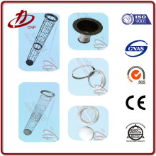 Filter bag cages pulse jet baghouse stainless steel cages
