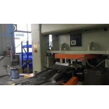 Einfache offene Produktionslinie für Maschinen