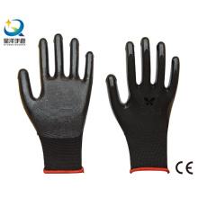 13G Nitril Polyester Nitril beschichtet, Schutzmaßnahmen Arbeitshandschuhe (N6002)