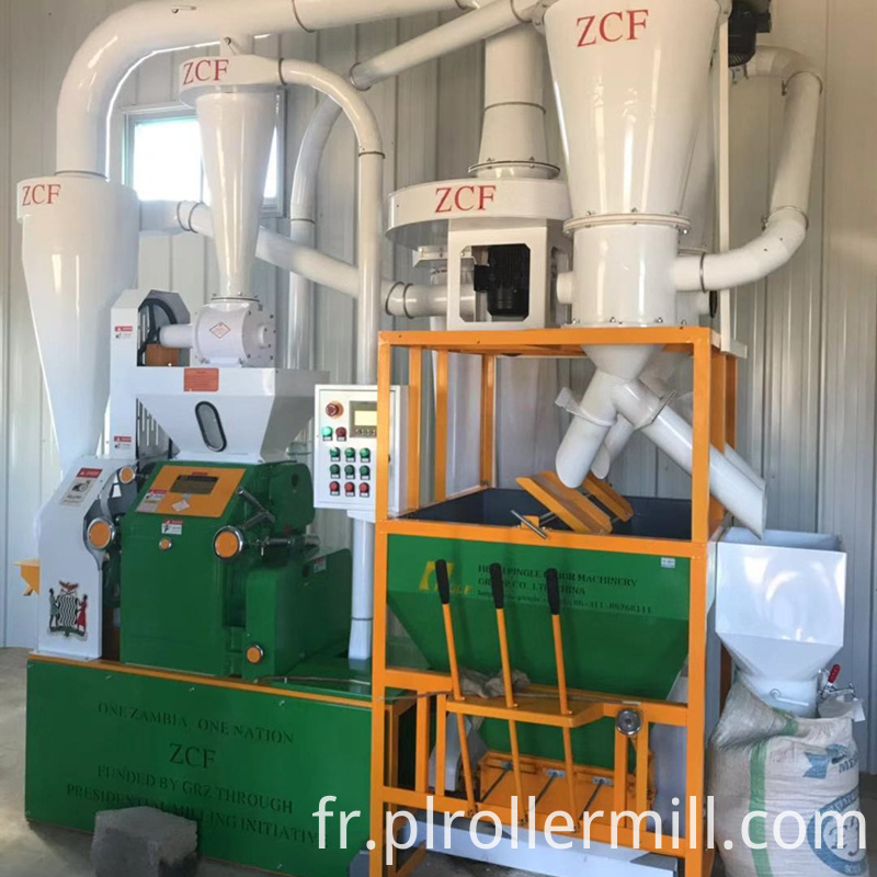 Zambia 3TPD Solar Power Maize Flour Plant